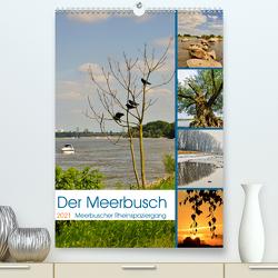 Der Meerbusch – Meerbuscher Rheinspaziergang (Premium, hochwertiger DIN A2 Wandkalender 2021, Kunstdruck in Hochglanz) von Hackstein,  Bettina