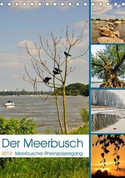 Der Meerbusch – Meerbuscher Rheinspaziergang (Tischkalender 2019 DIN A5 hoch) von Hackstein,  Bettina