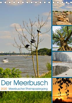 Der Meerbusch – Meerbuscher Rheinspaziergang (Tischkalender 2020 DIN A5 hoch) von Hackstein,  Bettina
