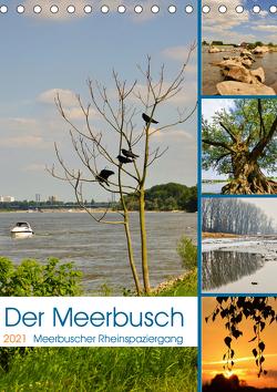 Der Meerbusch – Meerbuscher Rheinspaziergang (Tischkalender 2021 DIN A5 hoch) von Hackstein,  Bettina