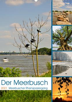 Der Meerbusch – Meerbuscher Rheinspaziergang (Wandkalender 2021 DIN A2 hoch) von Hackstein,  Bettina