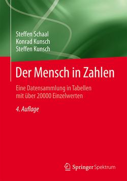 Der Mensch in Zahlen von Kunsch,  Konrad, Kunsch,  Steffen, Schaal,  Steffen
