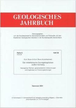 Der mittelfränkische Grundgebirgsrücken südlich Nürnberg von Bader,  Kurt, Bram,  Kurt