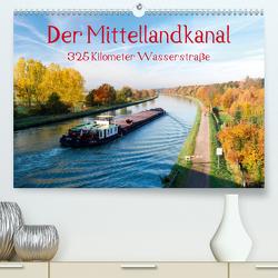 Der Mittellandkanal – 325 Kilometer Wasserstraße (Premium, hochwertiger DIN A2 Wandkalender 2020, Kunstdruck in Hochglanz) von Ellerbrock,  Bernd