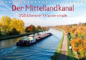 Der Mittellandkanal – 325 Kilometer Wasserstraße (Tischkalender 2020 DIN A5 quer) von Ellerbrock,  Bernd