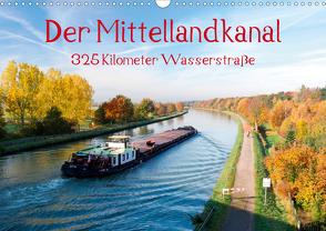 Der Mittellandkanal – 325 Kilometer Wasserstraße (Wandkalender 2020 DIN A3 quer) von Ellerbrock,  Bernd
