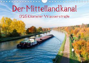 Der Mittellandkanal – 325 Kilometer Wasserstraße (Wandkalender 2020 DIN A4 quer) von Ellerbrock,  Bernd