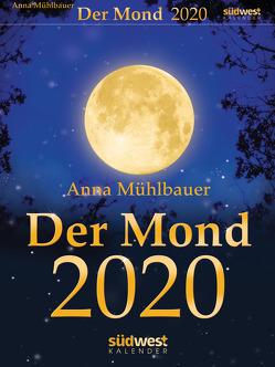 Der Mond 2020 Tagesabreißkalender von Mühlbauer,  Anna