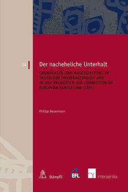 Der nacheheliche Unterhalt von Beuermann,  Philipp