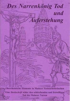 Der Narrenkönig Tod und Auferstehung von Seebach,  Helmut