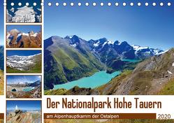 Der Nationalpark Hohe Tauern (Tischkalender 2020 DIN A5 quer) von Kramer,  Christa