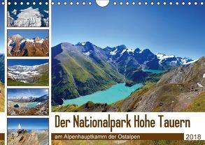 Der Nationalpark Hohe Tauern (Wandkalender 2018 DIN A4 quer) von Kramer,  Christa
