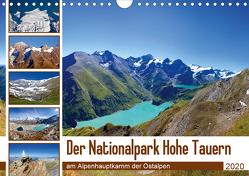 Der Nationalpark Hohe Tauern (Wandkalender 2020 DIN A4 quer) von Kramer,  Christa