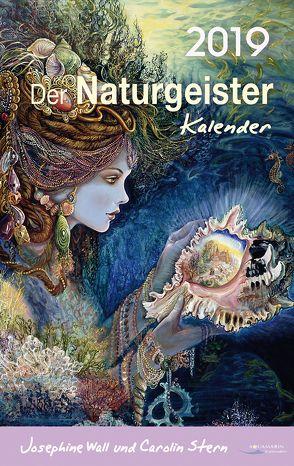 Der Naturgeister-Kalender 2019 von Stern,  Carolin, Wall,  Josephine