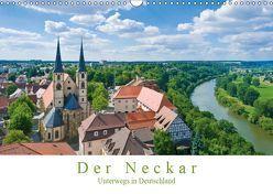 Der Neckar – Unterwegs in Deutschland (Wandkalender 2019 DIN A3 quer) von Wackenhut,  Jürgen