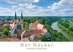 Der Neckar – Unterwegs in Deutschland (Wandkalender 2019 DIN A4 quer) von Wackenhut,  Jürgen