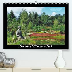 Der Nepal Himalaya Park (Premium, hochwertiger DIN A2 Wandkalender 2021, Kunstdruck in Hochglanz) von Heußlein,  Jutta