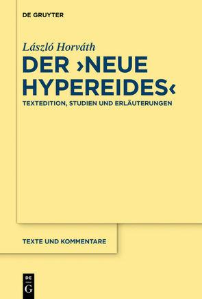 """Der """"Neue Hypereides"""" von Horváth,  László"""