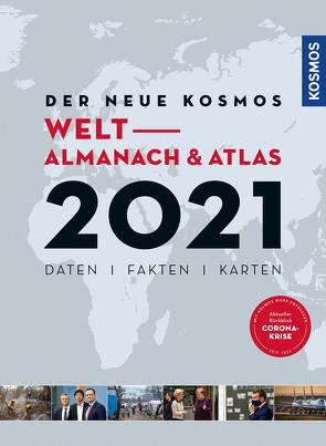 Der neue Kosmos Welt- Almanach & Atlas von Aubel,  Henning, Ell,  Renate, Engler,  Philip
