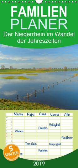 Der Niederrhein im Wandel der Jahreszeiten – Familienplaner hoch (Wandkalender 2019 , 21 cm x 45 cm, hoch) von Wermter,  Christof