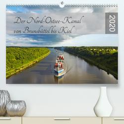 Der Nord-Ostsee-Kanal von Brunsbüttel bis Kiel (Premium, hochwertiger DIN A2 Wandkalender 2020, Kunstdruck in Hochglanz) von Schulz,  Olaf