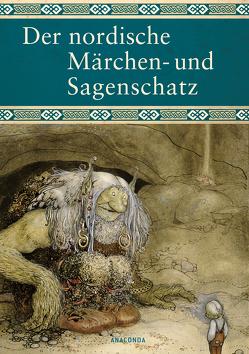 Der nordische Märchen- und Sagenschatz von Ackermann,  Erich