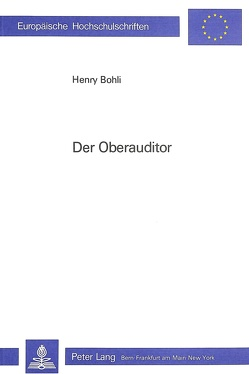 Der Oberauditor von Bohli,  Henry