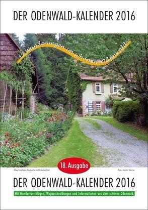 Der Odenwald-Kalender 2016 von Brunnengräber,  Hubert, Türk,  Rainer