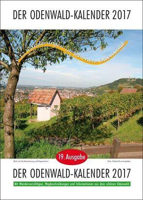 Der Odenwald-Kalender 2017 von Türk,  Rainer
