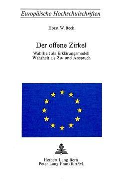Der offene Zirkel von Beck,  Horst W