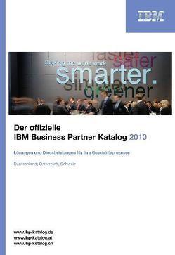 Der offizielle IBM Business Partner Katalog 2010