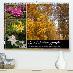 Der Ohrbergpark (Premium, hochwertiger DIN A2 Wandkalender 2020, Kunstdruck in Hochglanz) von Lindert-Rottke,  Antje