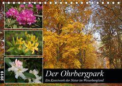 Der Ohrbergpark (Tischkalender 2019 DIN A5 quer) von Lindert-Rottke,  Antje