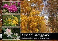 Der Ohrbergpark (Wandkalender 2019 DIN A2 quer) von Lindert-Rottke,  Antje