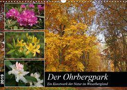 Der Ohrbergpark (Wandkalender 2019 DIN A3 quer) von Lindert-Rottke,  Antje