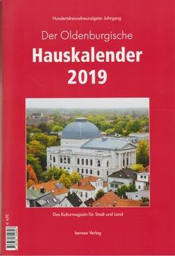 Der Oldenburgische Hauskalender 2019 von Welp,  Jörgen