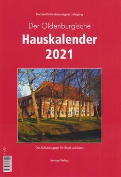 Der Oldenburgische Hauskalender 2021 von Welp,  Jörgen