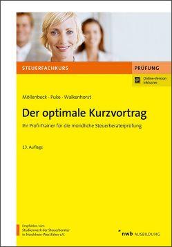 Der optimale Kurzvortrag von Marx,  Arne, Möllenbeck,  Claus, Puke,  Michael, Richter,  Heinz, Walkenhorst,  Ralf