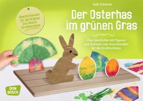 Der Osterhas im grünen Gras von Geibel,  Emanuel, Scherzer,  Gabi
