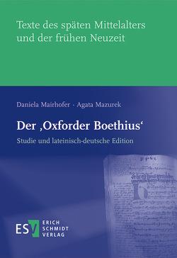 Der 'Oxforder Boethius' von Mairhofer,  Daniela, Mazurek,  Agata