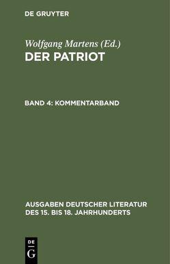 Der Patriot / Kommentarband von Martens,  Wolfgang