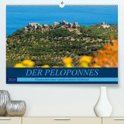 DER PELOPONNES (Premium, hochwertiger DIN A2 Wandkalender 2020, Kunstdruck in Hochglanz) von Scholz,  Frauke