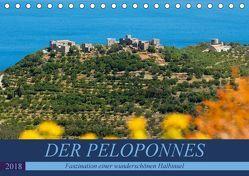DER PELOPONNES (Tischkalender 2018 DIN A5 quer) von Scholz,  Frauke