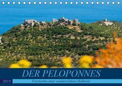 DER PELOPONNES (Tischkalender 2019 DIN A5 quer) von Scholz,  Frauke