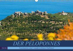 DER PELOPONNES (Wandkalender 2018 DIN A3 quer) von Scholz,  Frauke
