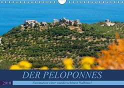 DER PELOPONNES (Wandkalender 2018 DIN A4 quer) von Scholz,  Frauke