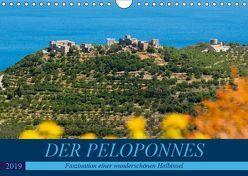 DER PELOPONNES (Wandkalender 2019 DIN A4 quer) von Scholz,  Frauke