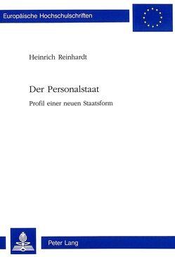 Der Personalstaat von Reinhardt,  Heinrich