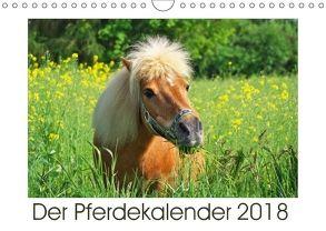 Der Pferdekalender (Wandkalender 2018 DIN A4 quer) von DESIGN Photo + PhotoArt,  AD, Dölling,  Angela