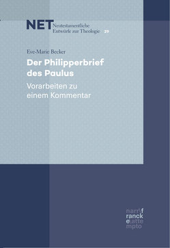 Der Philipperbrief des Paulus von Becker,  Eve-Marie
